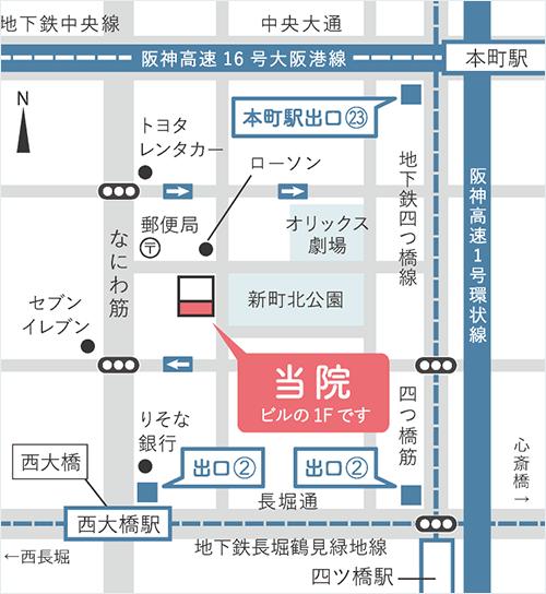わたなべ耳鼻咽喉科MAP